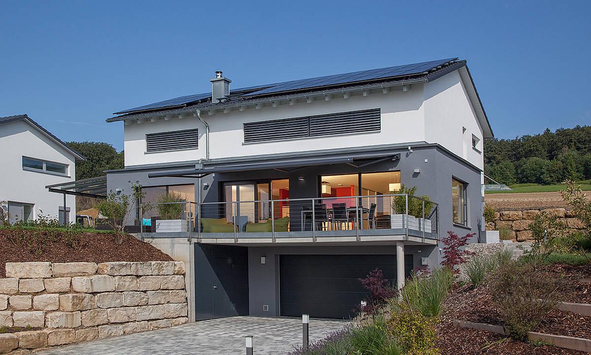 Kundenhaus familie philipp zaunm ller massivhaus gmbh for Energiekonzept haus