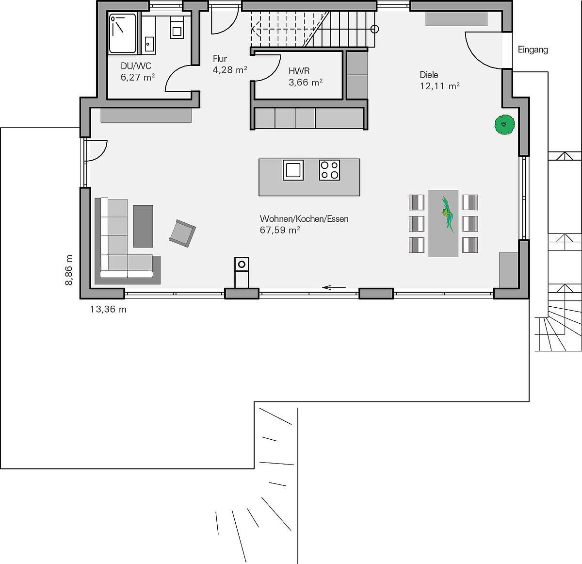 kundenhaus familie philipp zaunm ller massivhaus gmbh. Black Bedroom Furniture Sets. Home Design Ideas